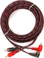 Межблочный кабель для автоакустики Урал Molot 2RCA-MT5M -