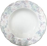 Тарелка столовая глубокая Cmielow i Chodziez Feston / G236-0011490 (акварель) -