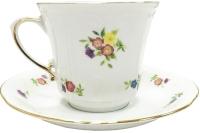 Чашка с блюдцем Cmielow i Chodziez Kamelia / B443-8202K03 -