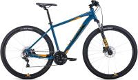 Велосипед Forward Apache 29 3.2 Disc 2021 / RBKW1M39G020 -
