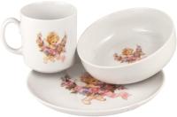 Набор столовой посуды Cmielow i Chodziez Atelier / G800-6503T00 (девочка) -