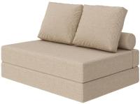 Бескаркасный диван Proson Pad Cozy Savana 140x200 (бежевый) -