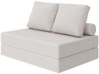 Бескаркасный диван Proson Pad Cozy Savana 140x200 (молочный) -