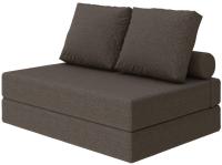 Бескаркасный диван Proson Pad Cozy Savana 140x200 (шоколад) -