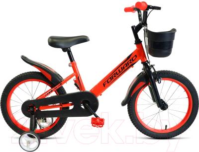 Детский велосипед Forward Nitro 16 2021 / 1BKW1K1C1026
