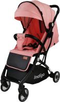 Детская прогулочная коляска INDIGO Rona (розовый) -