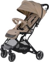 Детская прогулочная коляска INDIGO Trip (бежевый) -