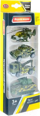 Набор игрушечной техники Play Smart Военная техника / 6678