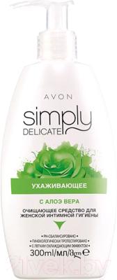 Гель для интимной гигиены Avon Ухаживающий для интимной гигиены зеленый