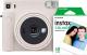 Фотоаппарат с мгновенной печатью Fujifilm Instax Square SQ1 с пленкой Instax Square 10шт (Chalk White) -