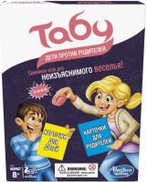 Настольная игра Mattel Games Табу дети против родителей / E4941121 -