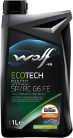 Моторное масло WOLF EcoTech 5W20 SP RC G6 FE / 16154/1 (1л) -