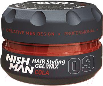 Воск для укладки волос NishMan Cola 09 (100мл)