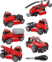 Конструктор Qilun Toys Собери сам! / QL6601S-5 (с инструментами) -