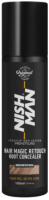 Спрей-краска для волос NishMan Magic Touch Up Консилер (100мл, коричневый) -