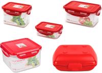 Набор контейнеров Oursson CP0303060813LB14/RD -