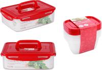 Набор контейнеров Oursson CP55832003/RD -