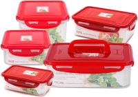 Набор контейнеров Oursson CP050911132003/RD -