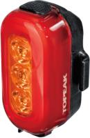 Фонарь для велосипеда Topeak Taillux 100 Usb / TMS093RY (красный/янтарный/задний) -