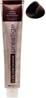 Крем-краска для волос Brelil Professional Colorianne Prestige 6/21 (100мл, холодный темный блондин) -