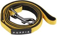 Поводок Puppia Tone / PDCF-AL30-YE-M (желтый/черный) -