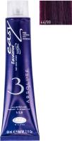 Крем-краска для волос Lisap Escalation Easy Absolute 3 44/88 (60мл, интенсивный шатен насыщенный фиолетовый) -