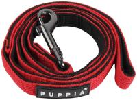 Поводок Puppia Tone / PDCF-AL30-RD-M (красный/черный) -