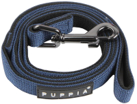 Поводок Puppia Tone / PDCF-AL30-RB-M (синий/черный) -