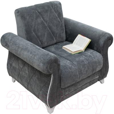 Кресло мягкое Нижегородмебель и К Роуз ТК 257