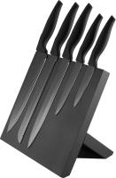Набор ножей Platinet PBKSB5W (черный/черный) -