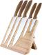 Набор ножей Platinet PBKSB5W  (дерево светлое/дерево светлое) -