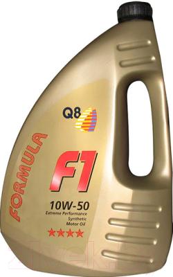 Моторное масло Q8 F1 10W50 / 101107601654 (4л)