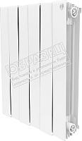 Радиатор биметаллический Royal Thermo PianoForte 500 Bianco Traffico (8 секций) -