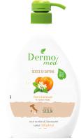 Мыло жидкое Dermomed Цветы Апельсина Аромат Сицилии (600мл) -