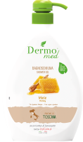 Мыло жидкое Dermomed Мед Аромат Тосканы (600мл) -