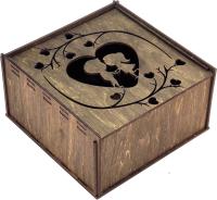 Коробка подарочная Woodstrong 3053 (25x25x10) -