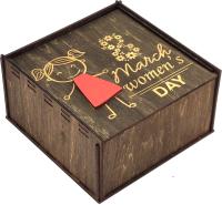 Коробка подарочная Woodstrong 3054 (25x25x10) -