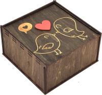 Коробка подарочная Woodstrong 3058 (25x25x10) -