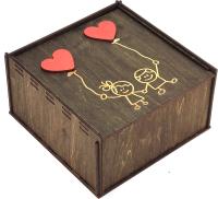 Коробка подарочная Woodstrong 3060 (25x25x10) -