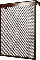 Экран для радиатора ERA 4 ДМЭР (коричневый) -