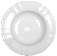 Тарелка столовая глубокая Lubiana Maria 3520 (цветы) -