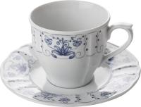 Чашка с блюдцем Lubiana Maria 3503/3515 (цветы) -