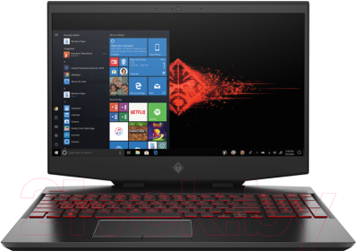 Игровой ноутбук HP Omen 15-dh1001ur (104K0EA)