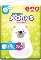 Подгузники-трусики детские Joonies Comfort XXL / 15-20кг (28шт) -