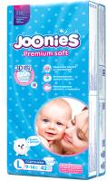 Подгузники детские Joonies L / 9-14кг (42шт) -