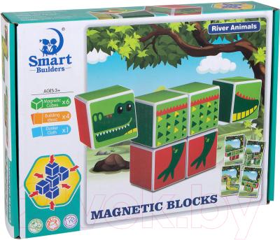 Развивающая игрушка Kribly Boo Магнитные кубики / 74249