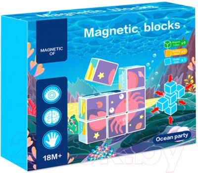 Развивающая игрушка Kribly Boo Магнитные кубики / 74260