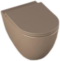 Унитаз подвесной Isvea Infinity Clearim Plus 10NF02001 (серо-коричневый) -