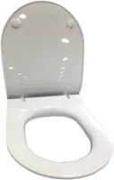 Сиденье для унитаза Керамин Сити (полипропилен с микролифтом, Slim) -
