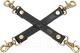 Фиксатор Fifty Shades of Grey Bound to You Faux Leather Hogtie / 187342 (черный) -